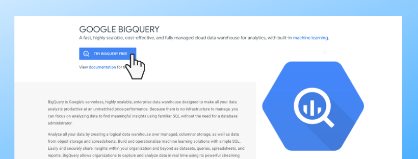 BigQuery sandbox lets you explore BQ for free