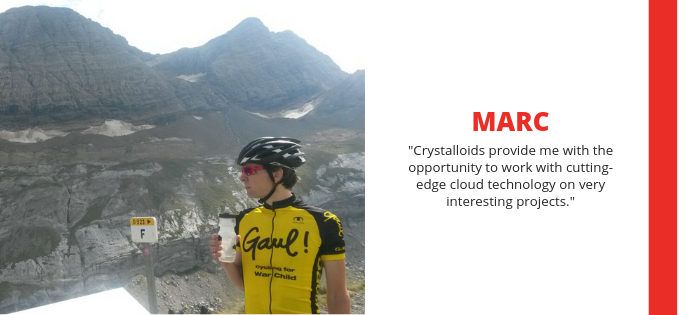 Meet Marc: Crystalloids Lead Software Developer (and the longest-serving employee)