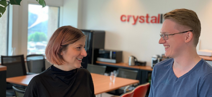 Crystalloids welcomes a former Google tech consultant and a business-minded full-stack developer